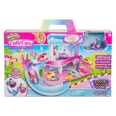 Cutie Cars Shopkins Spa Wash Playset