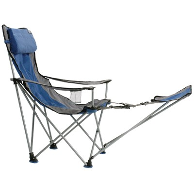 Attrayant Travel Chair With Carrying Case With Footrest   Blue