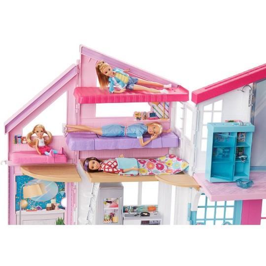 Barbie Malibu House Doll Playset image number null