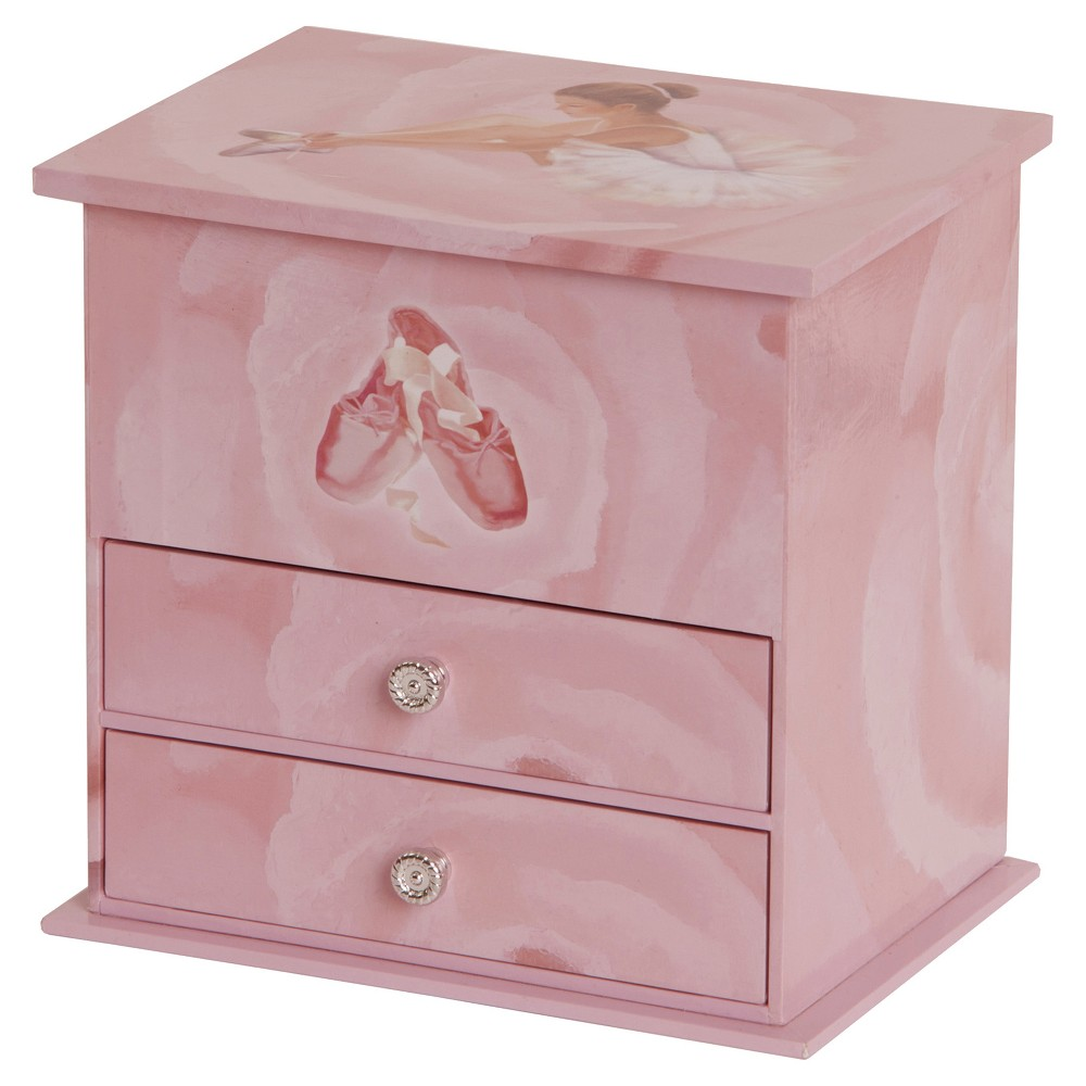 Image of Mele & Co. Casey Girls' Musical Ballerina Jewelry Box-Pink, Girl's, Size: Small