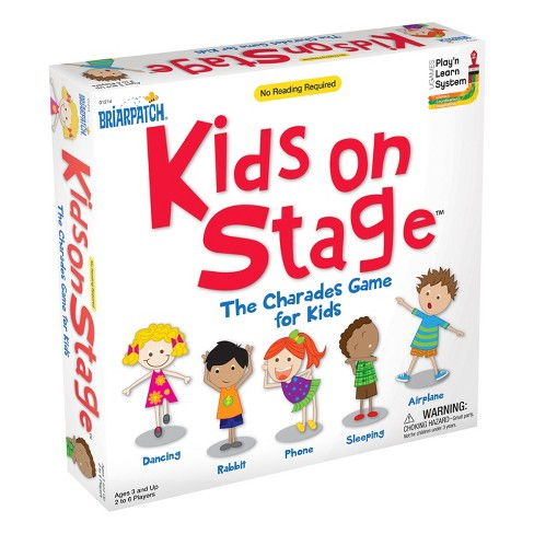 Briarpatch Kids On Stage Board Game - image 1 of 1