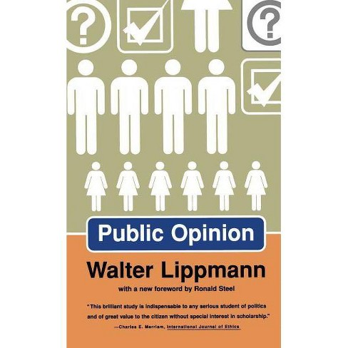 Public Opinion - by  Walter Lippmann (Paperback) - image 1 of 1