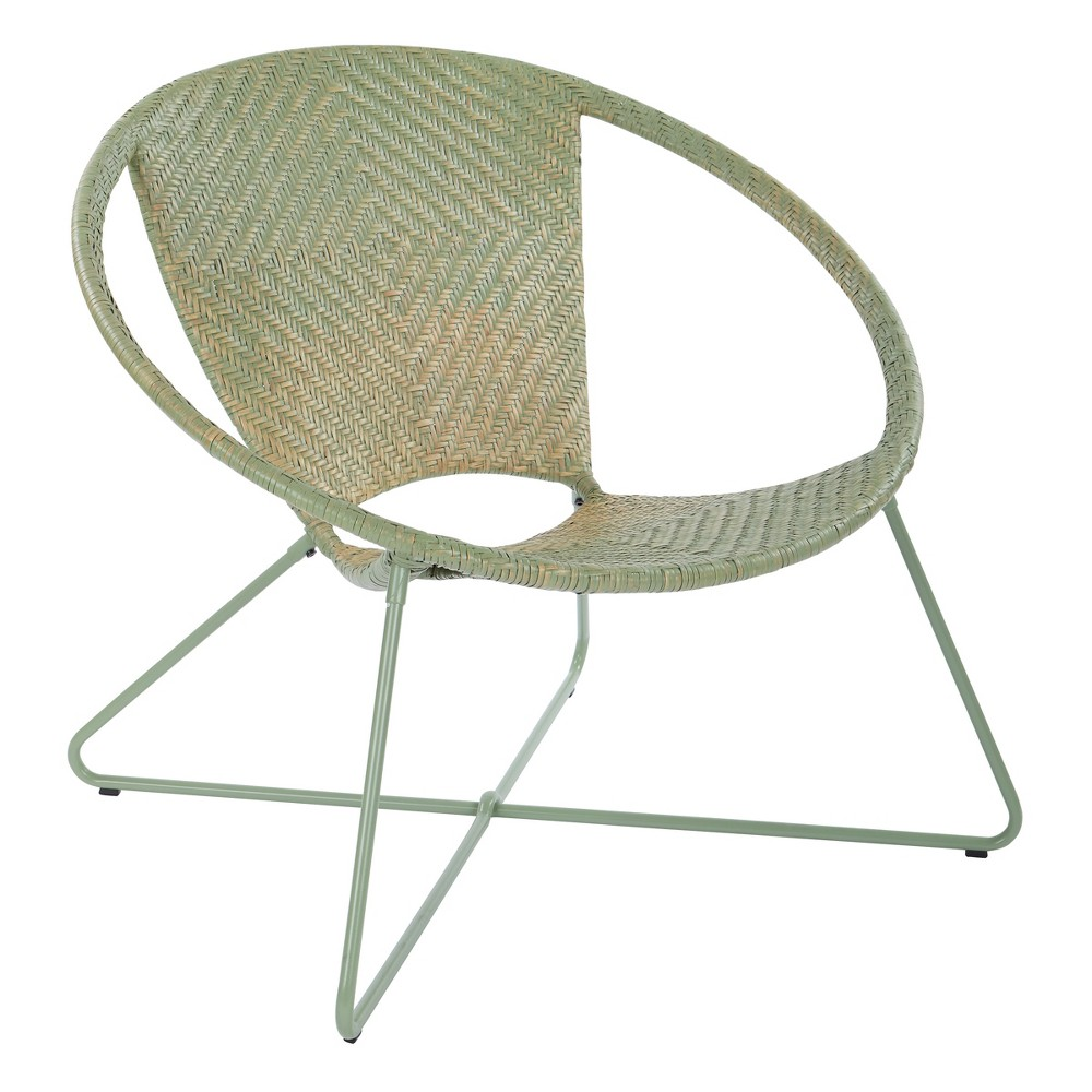 Navarre Lounge Chair Green - Osp Home Furnishings