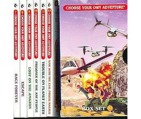 Choose Your Own Adventure Set 2 : Race Forever / Escape / Lost on the Amazon / Prisoner of the Ant - image 1 of 1