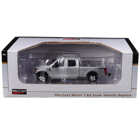 Ford F  Pickup Truck Ingot Silver  Cast Model Car By Speccast