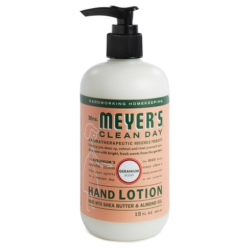 Mrs. Meyer's® Geranium Hand Lotion - 12oz - image 1 of 1