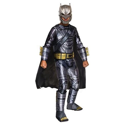 Boys  Batman v Superman  Dawn of Justice Deluxe Armored Batman Costume 6060a87070c2e