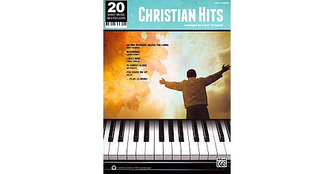 Christian Hits ( 20 Sheet Music Bestsellers) (Paperback) - image 1 of 1