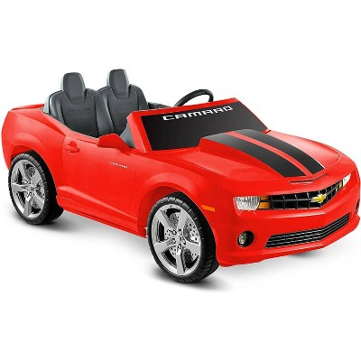 Kid Motorz 12V Racing Camaro Two Seater Powered Ride-On - Red