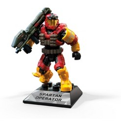 Mega Construx HALO Spartan Operator Figure