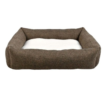 Rectangular Dog Bed - Brown - Boots & Barkley™