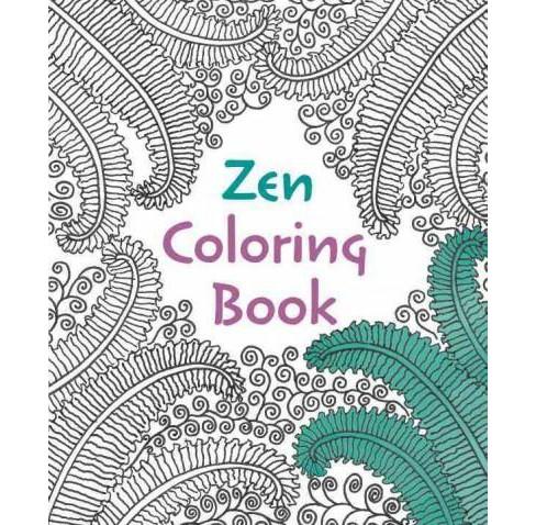 Zen Adult Coloring Book Target