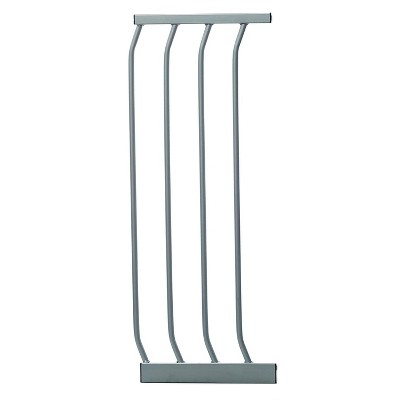 Dreambaby F172S Dawson 10.5 Inch Wide Baby and Pet Safety Security Gate Extension Attachment for Standard Height Wall to Wall Dawson Gates, Silver