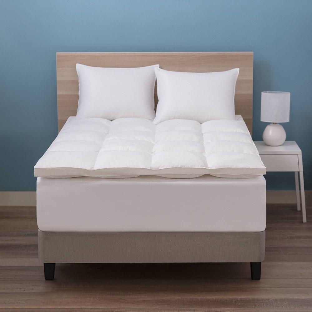 King Deluxe Down Alternative Fiber Bed Mattress Topper Allied Home
