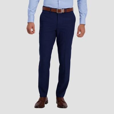 Haggar H26 Men's Premium Stretch Slim Fit Dress Pants