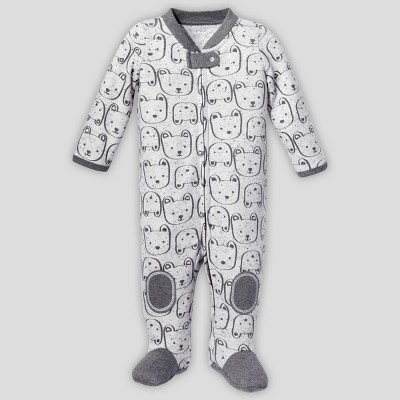 Lamaze Baby Organic Cotton Bear Sleep 'N Play - Gray 3M