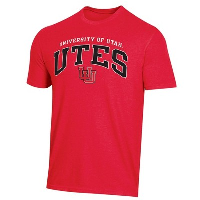 NCAA Utah Utes Men's Short Sleeve Heather T-Shirt