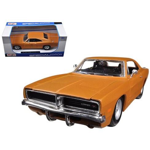 1969 Dodge Charger R T Orange 1 25 Diecast Model Car By Maisto Target