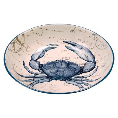 Certified International Coastal Postcards Serving/Pasta Bowl (13.25  x 3 )