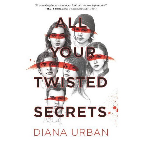 All Your Twisted Secrets - by  Diana Urban (Hardcover) - image 1 of 1