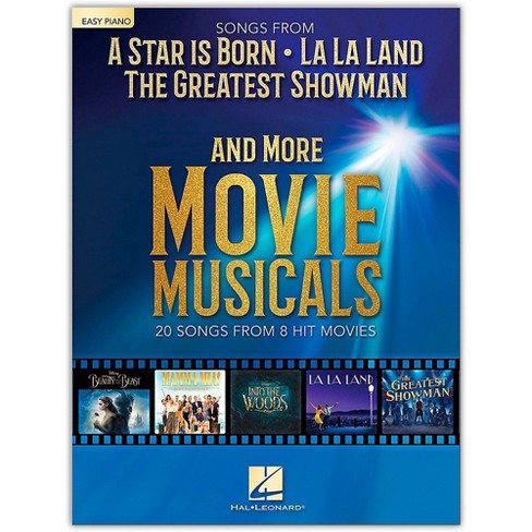 Hal Leonard Songs from A Star Is Born, The Greatest Showman, La La Land and More Movie Musicals Easy Piano Songbook - image 1 of 1