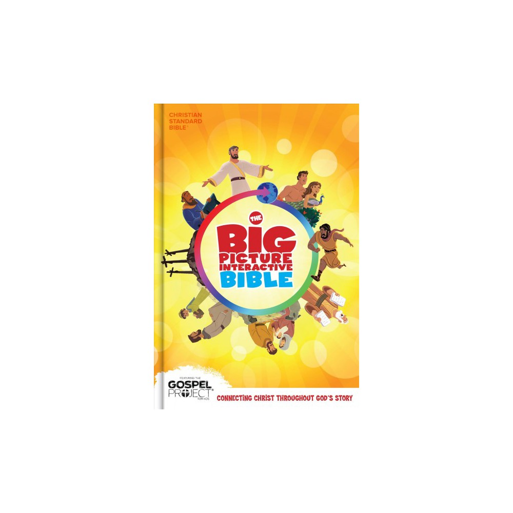 Big Picture Interactive Bible : Christian Standard Bible (Hardcover)