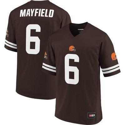 NFL Cleveland Browns Baker Mayfield Men's Short Sleeve Jersey