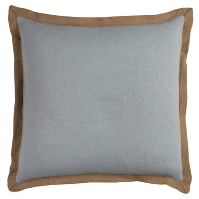 """22""""x22"""" Oversize Poly Filled Solid Square Throw Pillow - Rizzy Home"""