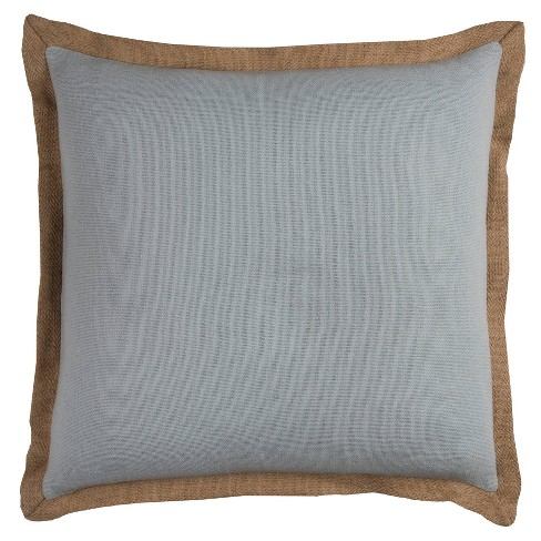 """22""""x22"""" Oversize Poly Filled Solid Square Throw Pillow - Rizzy Home - image 1 of 3"""