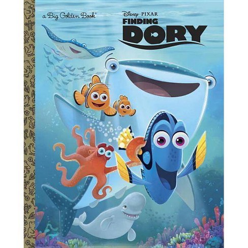 Finding Dory Big Golden Book (Disney/Pixar Finding Dory) (Hardcover) by Bill Scollon - image 1 of 1