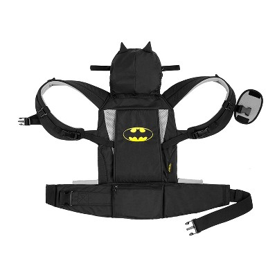 Kids Embrace DC Comics Batman Adjustable 3 in 1 Baby Carrier Backpack with Hood for Newborn, Infant, and Toddler 7 to 26 Pounds