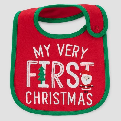 Baby's My First Christmas Bib - Just One You™ Made by Carter's® Red