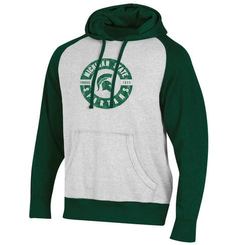Michigan State Spartans Men's Varsity White/Lightweight Hood - image 1 of 1