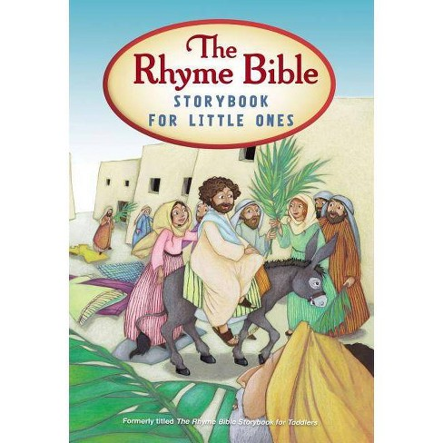 The Rhyme Bible Storybook for Little Ones - by  L J Sattgast (Board_book) - image 1 of 1