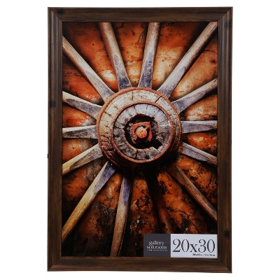 20X30 Walnut Large Wall Frame - Gallery Perfect