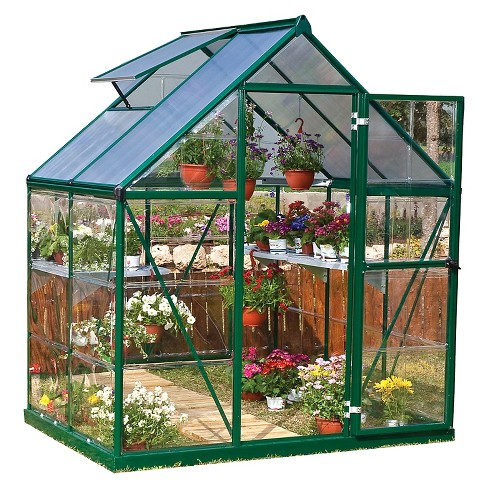 6 X 4 7 Nature Greenhouse Forest Palram