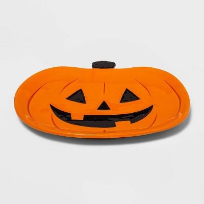 Ceramic Halloween Pumpkin Platter - Hyde & EEK! Boutique™