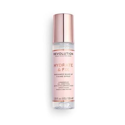 Makeup Revolution Hydrate & Fix Fixing Spray - 3.38 fl oz