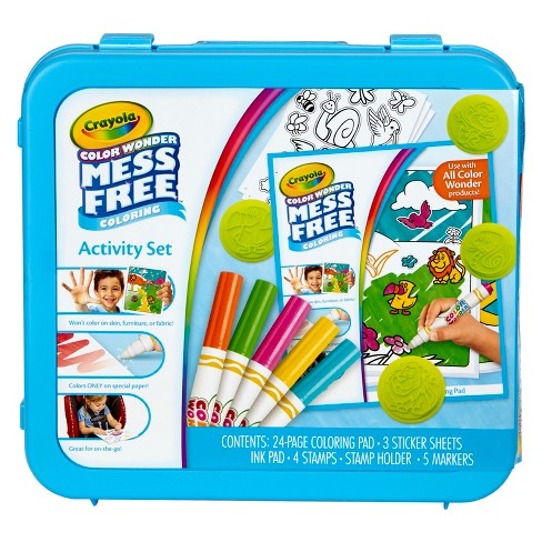 crayola color wonder mess free coloring activity set target
