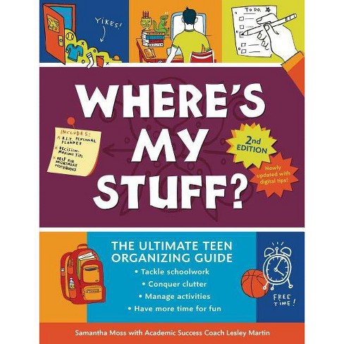 Where's My Stuff? 2nd Edition - by  Samantha Moss & Lesley Martin (Hardcover) - image 1 of 1