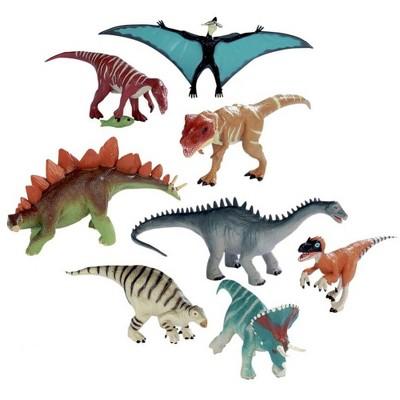 Wild Republic 8 Piece Dinosaur Collection