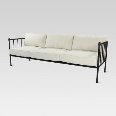 Bon Fernhill Metal Patio Sofa Linen   Threshold™