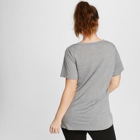 6430b06e2514 Women's Plus Size Smokey Bear Graphic T-Shirt Gray : Target
