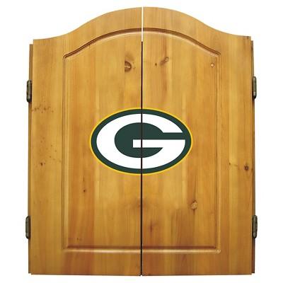 Imperial Bristle Dart Board Cabinet - Green Bay Packers