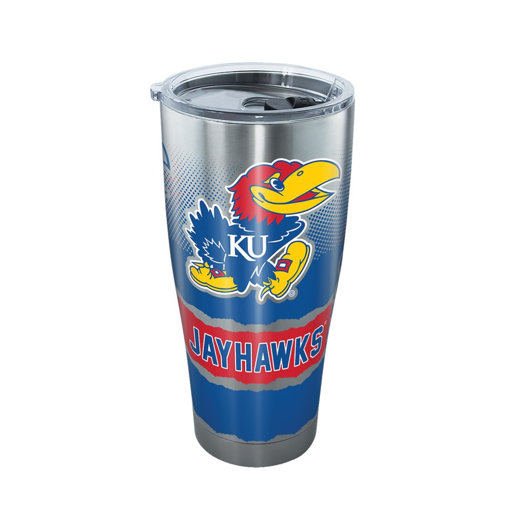 Tervis Kansas Jayhawks Knockout 30oz Stainless Steel Tumbler with lid