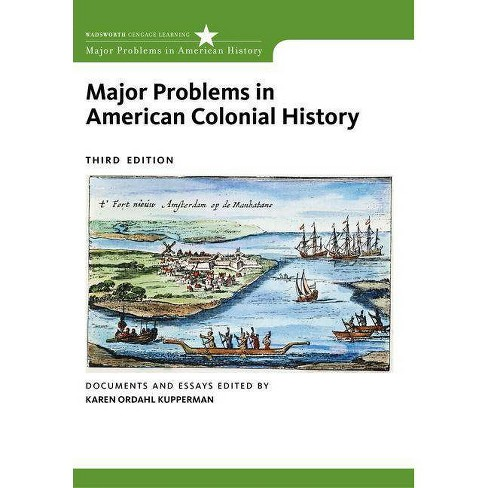 Major Problems in American Colonial History - (Major Problems in American History (Wadsworth)) - image 1 of 1