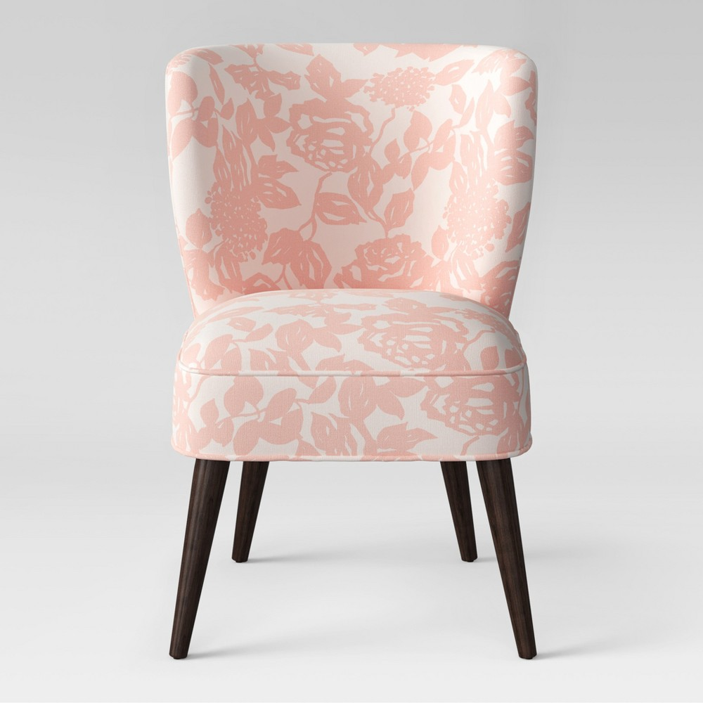 Pessac Curved Back Slipper Chair Pink Rose - Project 62