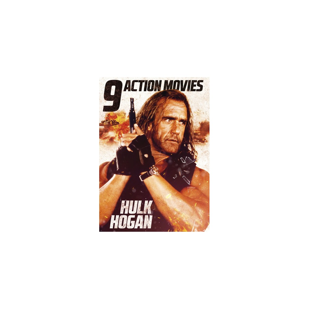 9 Action Movies Featuring Hulk Hogan (Dvd)