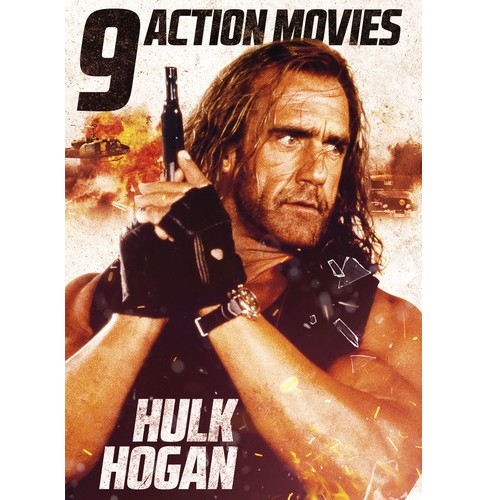 9 Action Movies Featuring Hulk Hogan (DVD) - image 1 of 1