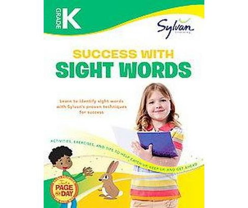 Kindergarten Success With Sight Words (Workbook) (Paperback) - image 1 of 1